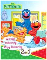 Sterling Sesame Street 3 In 1 - English
