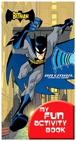 Buy Sterling Batman My Fun Activity Book 10 Fold - English