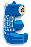 Buy Djeco Wooden E Letter - Donkey Pattern