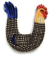 Buy Djeco Wooden U Letter - Chicken Design