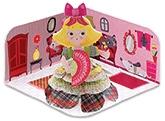 Buy Djeco Mini Doll Marchioness Paper Doll