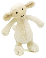 Jellycat Bashful Lamb Small Soft Toy - 18 cm