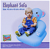 Buy Suzi Inflatable Elephant Sofa - 45 x 43 x 49 cm