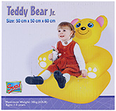 Buy Suzi Inflatable Teddy Bear Sofa Junior - 50 x 50 x 60 cm