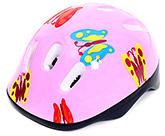 Fab N Funky Pink Butterfly Printed Helmet