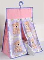 Buy Swayam Digital Teddy Bear Print Diaper Stacker Standard Size - 20 X 18 X 8 Inches