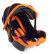 Fab N Funky Orange Car Seat - Upto 13 Kg