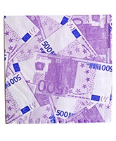 Party Anthem Euro Print Paper Napkin - Pack Of 20