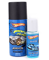 Hot Wheels Gift Set Hand Gel and Deodorant
