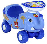 Buy Toyzone Musical Manual RideOn Happy Jumbo - Blue