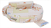 Advance Baby Full Feeding Pillow Bear Print - Cream