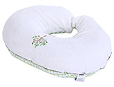 Buy Chicco Boppy Feeding And Infant Support Pillow With Velour Slip Cover - 47 x 57 x 16 cm