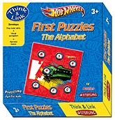 Buy Sterling Hot Wheels First Puzzles The Alphabet
