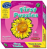 Buy Sterling Tiny Hands First Puzzles Flowers