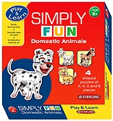 Buy Sterling Simply Fun Domestic Animals Puzzles