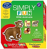 Buy Sterling Simply Fun Wild Animals Puzzles