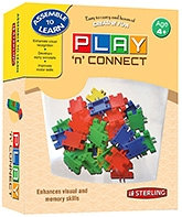 Buy Sterling Play N Connect - Easy To Carry And Hours Of Creative Fun