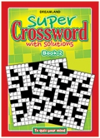 Buy Dreamland Super Crossword With Solutions Book 2 - English