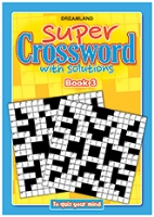 Buy Dreamland Super Crossword With Solutions Book 3 - English