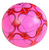 Buy Fab N Funky Designer Pink Football - Flower Print