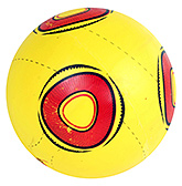 Buy Fab N Funky Designer Yellow Football - Circle Print