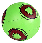 Fab N Funky Designer Green Football - Circle Print