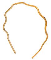 Buy Stol''n Wavy Shaped Hair Band - Orange