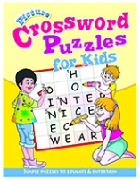 Buy Shree Book Centre Picture Crossword Puzzles For Kids - Yellow