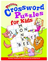Buy Shree Book Centre Picture Crossword Puzzles For Kids - Green