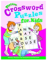 Buy Shree Book Centre Picture Crossword Puzzles For Kids - Pink