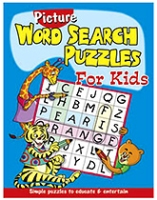 Buy Shree Book Centre Picture Word Search Puzzles for Kids - Blue