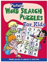 Buy Shree Book Centre Picture Word Search Puzzles for Kids - Red