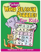 Buy Shree Book Centre Picture Word Search Puzzles for Kids - Green