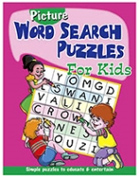 Buy Shree Book Centre Picture Word Search Puzzles for Kids - Pink