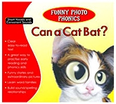 Shree Book Centre Funny Photo Phonics Can A Cat Bat - English