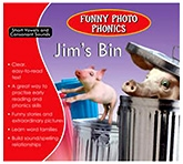 Shree Book Centre Funny Photo Phonics Jims Bin - English