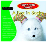 Shree Book Centre Funny Photo Phonics A Fox In Socks - English