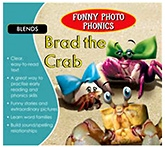 Shree Book Centre Funny Photo Phonics Brad The Crab - English