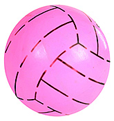 Buy Fab N Funky Designer Pink Football - Stripes Print