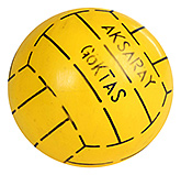 Buy Fab N Funky Designer Yellow Football - Stripes Print