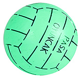 Buy Fab N Funky Designer Green Football - Stripes Print