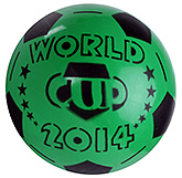Fab N Funky Green Football - World Cup 2014 Print