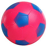 Fab N Funky Blue Football - Pentagon Print