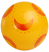 Buy Fab N Funky Yellow Football - Moon Print