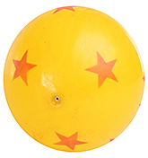 Fab N Funky Star Print Football - Yellow
