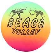 Fab N Funky Multicolor Football - Beach Volley Print