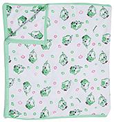 Buy Tinycare Fish Print Towel - Green