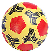 Fab N Funky Pentagon Print Football - Yellow