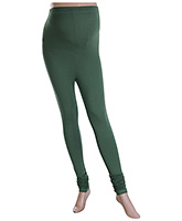 W Maternity Legging Chudidar - Green