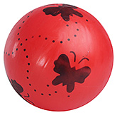 Buy Fab N Funky Red Football - Butterfly Print